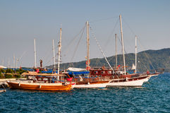 Boats in Marmaris Royalty Free Stock Photo