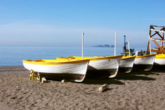 Boats on Mediterranean Stock Photo