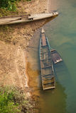 Boats in Mekong river Stock Photo