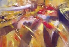 Boats ,modern  handmade paintings Royalty Free Stock Photo