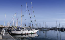 Boats moored Royalty Free Stock Photography