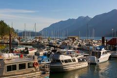 Marina at Horseshoe Bay in Vancouver British Columbia Canada Royalty Free Stock Photos
