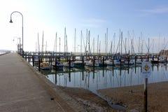 Early morning at Hastings marina