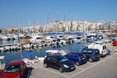 Zea Marina in Athens Royalty Free Stock Photography