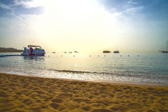 Boats in Naama Bay, hdr tone Royalty Free Stock Images
