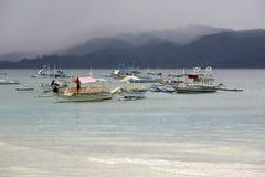 Boats at ocean Royalty Free Stock Image