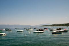 Boats On Lake Royalty Free Stock Image