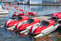 Boats On Lake Zurich Royalty Free Stock Photos