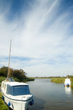 Boats On The Broads Stock Photos