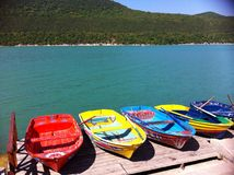 Free Boats On The Lake Stock Photography - 43586842