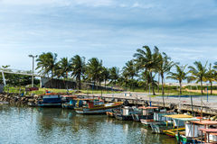 Free Boats On The Water From An Old Fishing Village In Espirito Santo, Brazil Royalty Free Stock Images - 62893409