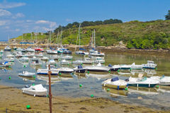 Boats out of water. Stock Photography