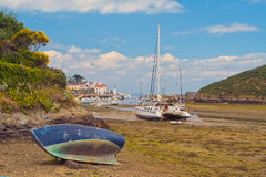 Boats out of water. Stock Image