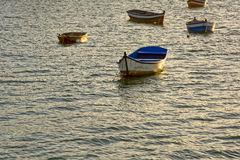 Boats over the sea Royalty Free Stock Photography
