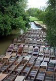 Boats at Oxford University Stock Images