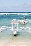 Boats in Padangbai, Bali. Indonesia Royalty Free Stock Photography
