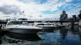 Boats parking at Darling Harbour Royalty Free Stock Photography