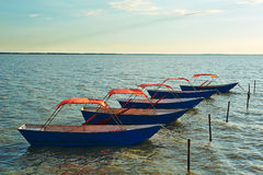 The boats Royalty Free Stock Photography