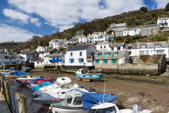 Polperro Cornwall Stock Images