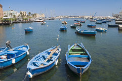 Boats in port. Royalty Free Stock Photos