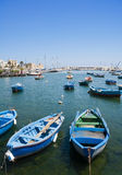 Boats in port. Royalty Free Stock Photography