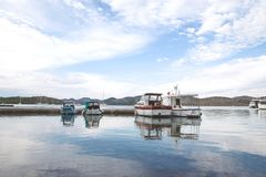 Boats in Port during Daytime Stock Photography