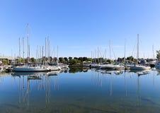 Boats at a Port Royalty Free Stock Photo