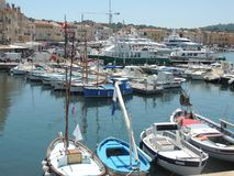 Boats on Port Grimaud, France