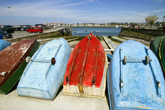 Hondarribia port Stock Photography