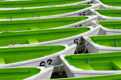 Boats in port Stock Photography