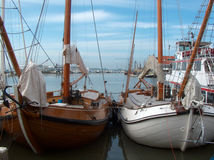 Boats at port Stock Photography