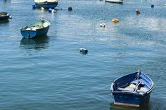 Boats in port of Malta Stock Photography