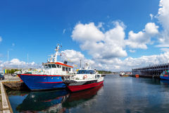 Boats in port Royalty Free Stock Photo