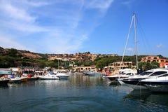 Boats At Portisco - Sardinia Royalty Free Stock Images