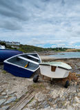Boats at Portscatho Stock Photo