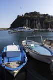 Boats in Procida, Italy Stock Image
