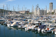 Boats at the quay. Stock Image