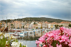 Boats at quay in La Ciota Stock Photography