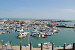 Boats at Ramsgate Mariner Royalty Free Stock Images