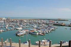 Boats at Ramsgate Mariner Royalty Free Stock Images
