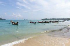 Boats Rawai Royalty Free Stock Photo