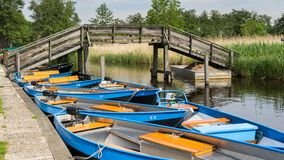 Boats for rent Stock Photography