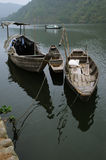 Boats on the river Stock Photography