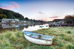 Boats on the River Lerryn Royalty Free Stock Photo