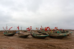 The boats on the river, sea, lake Stock Photography