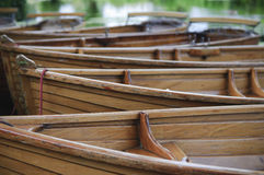 Boats on the river Stour UK Stock Image