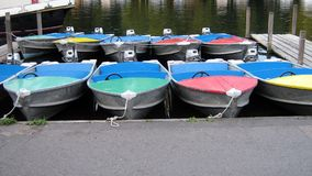 Boats, River Thames side, Henley-on-Thames, England Royalty Free Stock Photos