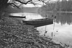 Boats at river Royalty Free Stock Photo