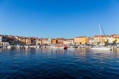 Boats in Rovinj, Croatia Royalty Free Stock Photo
