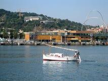 Boats and sailboats Stock Image